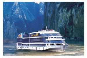 长海蓝鲸号豪华游船(宜昌-重庆长江三峡游轮票)