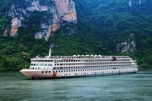 长江黄金8号游轮 三峡五日游 宜昌到重庆航线(每周三)