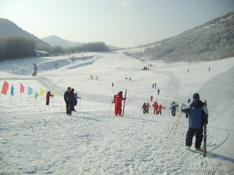 神农架滑雪 温暖寒冬