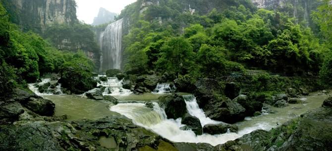 三峡大瀑布五叠瀑布 宜昌到三峡大瀑布半日游热线0717-6696298