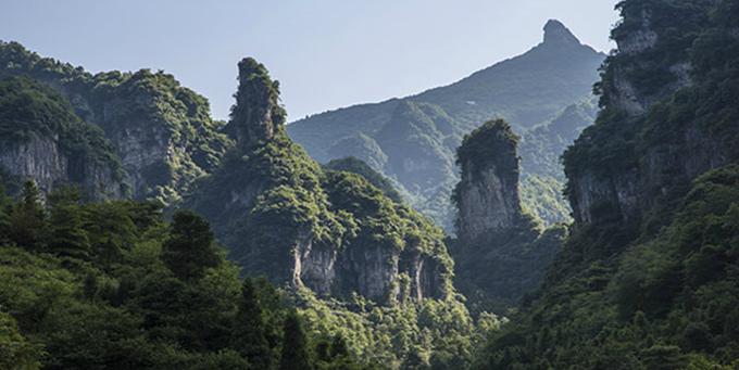 长阳清江方山风景区:清江河畔小蓬莱