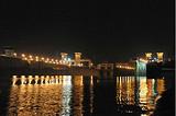 宜昌自驾游两天(乘游轮夜游长江、过葛洲坝船闸、三峡大坝)
