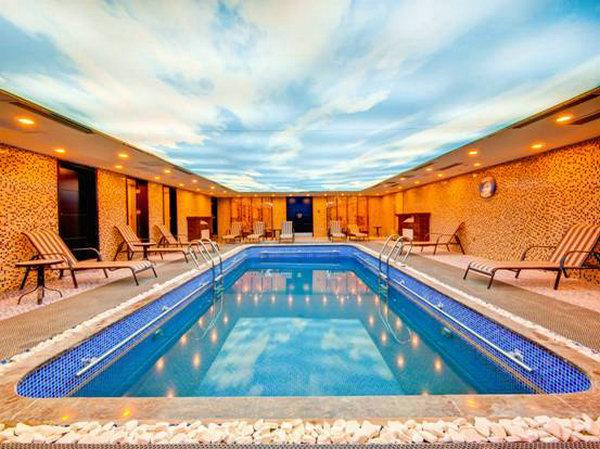 总部游泳池600_449户型花园别墅泳池图盘锦图片
