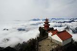 宜昌长阳天柱山,湖北的中武当道教名山和避暑胜地