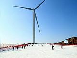 宜昌百里荒生态旅游区滑雪场门票、景区大门