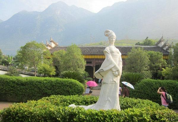 宜昌旅游景点昭君村古汉文化旅游区