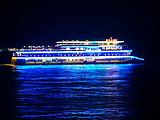 【2021宜昌长江夜游】乘坐三峡八号游轮,过船闸,赏长江夜景
