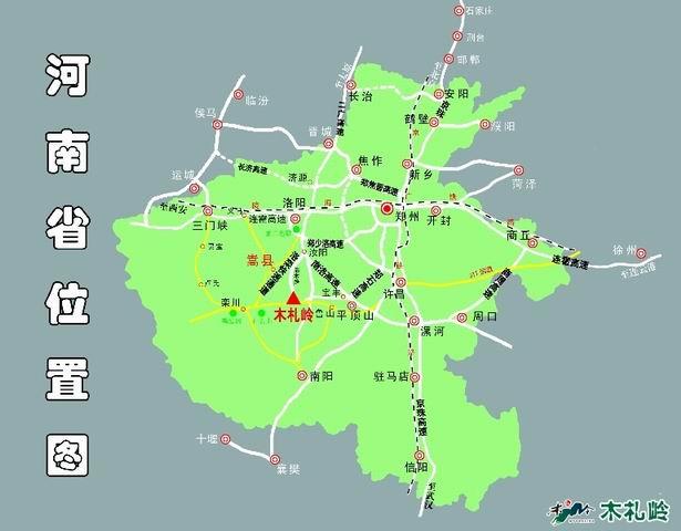 木扎岭风景区地理位置