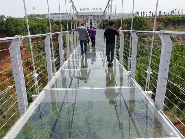 万安山野生动物园新建的玻璃桥限时免费啦