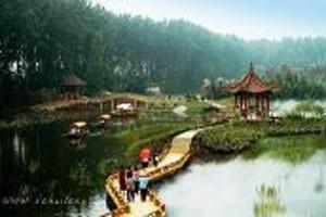 台儿庄古城,大战纪念馆,微山湖二日游