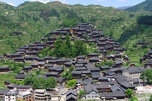 美高梅官网贵州双飞5日游-黄果树瀑布、西江千户苗寨、小七孔