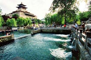 济南黑虎泉、大明湖、解放阁、芙蓉街、泰安太阳部落二日游