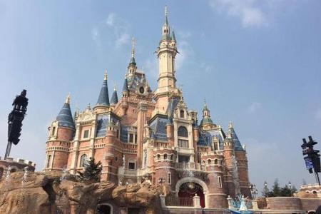 迪士尼乐园、恐龙园、上海科技馆、上海外滩、城隍庙、双飞四