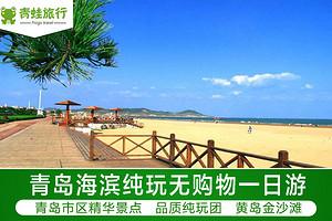 青岛海滨纯玩一日游  纯玩无购物 多条线路可选