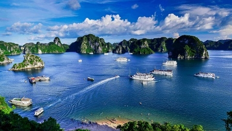 越南下龙湾,天堂岛,河内,6日观光之旅_ 大连独立团