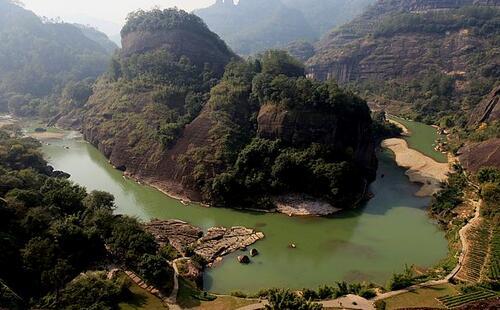 氧吧寨下大峡谷—将乐—福建最大的石灰岩溶洞玉华洞