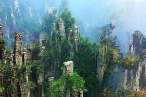 武汉到张家界、天子山、黄石寨、天门山玻璃栈道火车四日游