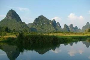 武汉到桂林、訾洲、兴坪、伏波山、穿山岩双卧特价五日游