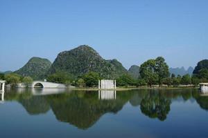 武汉出发到 南宁、北海涠洲岛、德天瀑布、通灵大峡谷双卧六日游