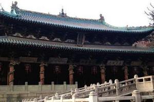 武汉到山西五台山、云岗石窟、平遥古城、乔家大院双高铁六日