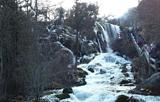 结冰最壮观一年 冬季到松潘看中华第一瀑吧