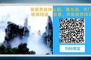 武汉到张家界森林公园、黄龙洞、天门山玻璃栈道、凤凰高铁四日游