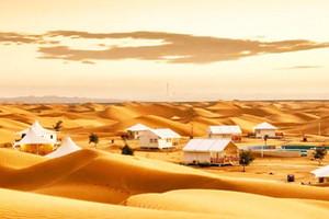 行走寧夏騰格里沙漠露營二日游