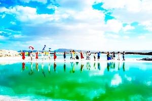 青海湖-茶卡盐湖-翡翠湖-东台吉乃尔湖-水上雅丹五日游