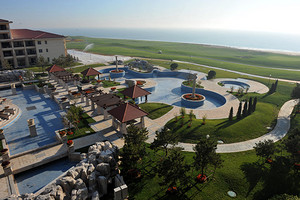 【北戴河阿尔卡迪亚滨海度假酒店】带私人海滩浴场