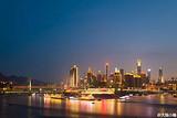 去重庆旅游必去游览的山城夜景
