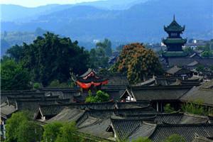 四川樱花阆中古城、中国绸都丝绸博物馆、文峰古街2日游