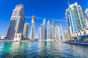 音乐喷泉、迪拜塔、帆船酒店-阿联酋迪拜6日游