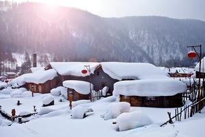 哈尔滨、童话雪乡、亚布力滑雪双飞6日游