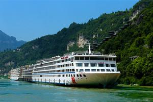 长江黄金2号三峡旅游跟团单程四日游