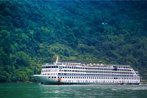 黄金2号游轮旅游跟团三峡单程五日游