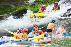 武隆木棕河漂流一日游