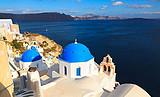 【十一北京到圣托里尼自由行报价】希腊爱琴海超级浪漫半自助8日