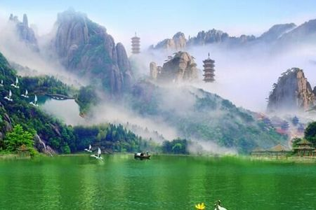 夕阳红旅游报价_桂林、漓江、黄果树瀑、西江千户苗寨双卧八日