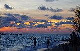 防城港勒山古渔村,企沙叹海鲜,天堂滩、蝴蝶岛一日游