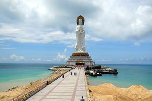 6月:海口三亚蜈支洲、南山、槟榔谷双飞铂金全套房双飞5日游