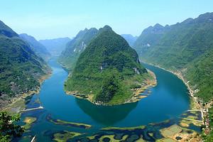 大化红水河游船、达哞小镇、马山 天然泉水泳池一日游