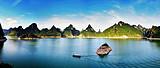 上林大龙湖游船观光、万古茶厂、鼓鸣寨一日游