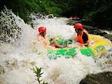 宾阳白鹤观观竹海,泳池泡水,碗窑峡谷漂流一日游