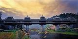 柳州丹洲古城,三江风雨桥,龙脊梯田,西街,黄姚古镇纯玩5日游