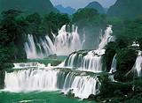 大新德天瀑布,明仕田园,花山崖壁画,船游龙州左江纯玩二日游