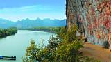 龙州花山崖壁画,龙州起义纪念馆,崇左园博园休闲二日游