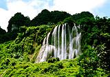 南宁出发靖西通灵大峡谷,三叠岭瀑布一日游