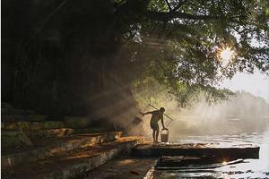 鹿寨山楂树之恋赏花、中渡古镇、响水瀑布、石林二日游