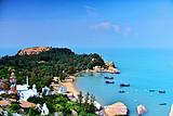 广东小希腊---台山蓝色海岸那琴半岛动车三日游