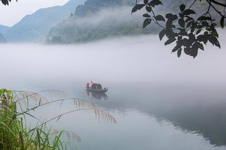 湖南雾漫小东江、高椅岭、梧州白云山、骑楼城动车往返三日纯摄影